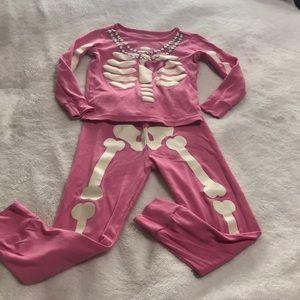 Toddler Bones PJs. GUC